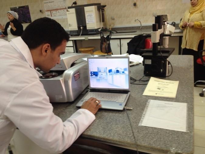 real time PCR  جهاز تفاعل البلمرة المتكرر الكمى