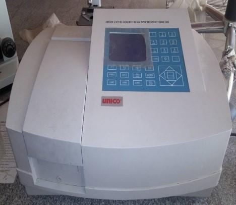 Uv spectrophotometer جهاز التحليل الطيفى الضوئى